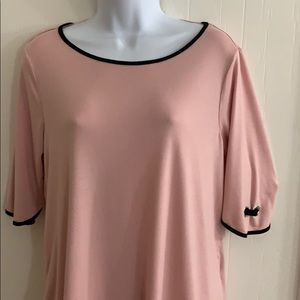 Cable and Gauge top xl Pink and black
